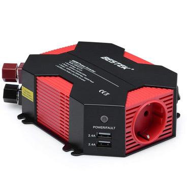 inversor de corriente Bestek 12v-220v 400w