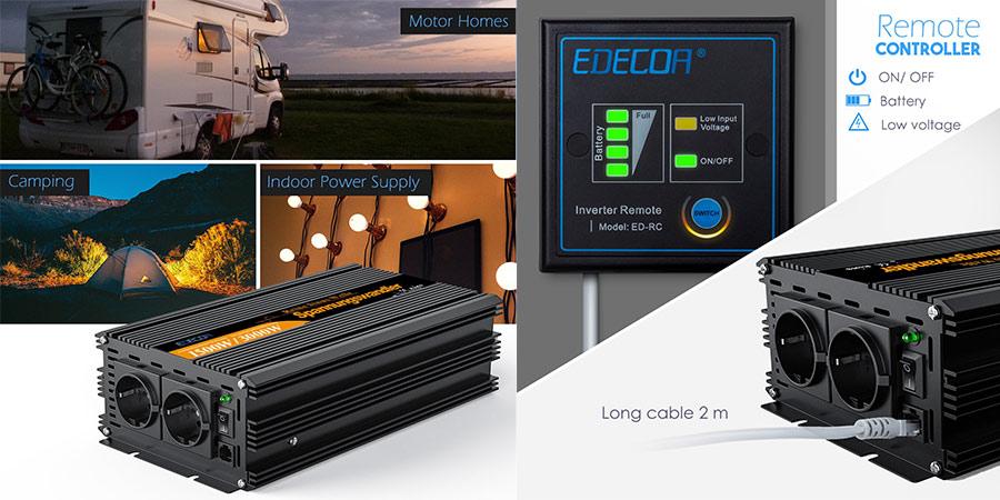 inversor de corriente EDECOA 1500 precio