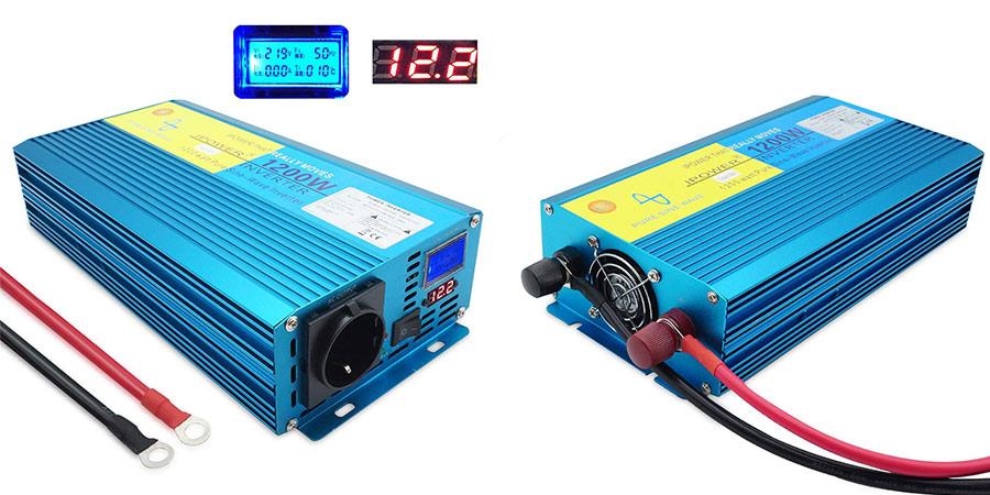 inversor de corriente Yinleader 1200W economico