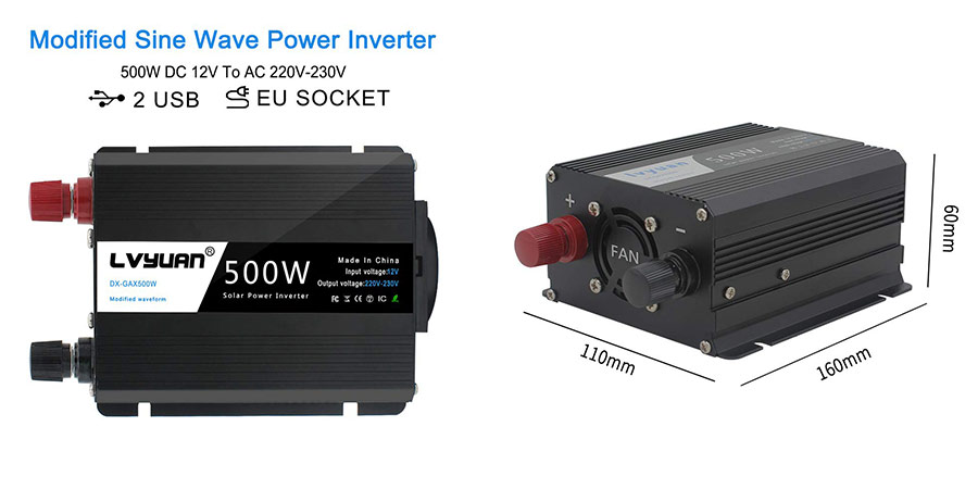 inversor de corriente yinleader 500w ofertas